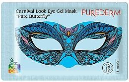 Kup Hydrożelowa maska na oczy - Purederm Carnival Look Eye Gel Mask Pure Butterfly