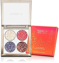 Kup Paletka cieni do powiek - Nabla Miami Lights Collection Glitter Palette