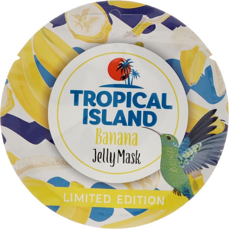 Żelowa maska do twarzy Banan - Marion Tropical Island