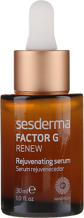 Przeciwstarzeniowe serum do twarzy - SesDerma Laboratories Factor G Renew Rejuvenating Serum — фото N2