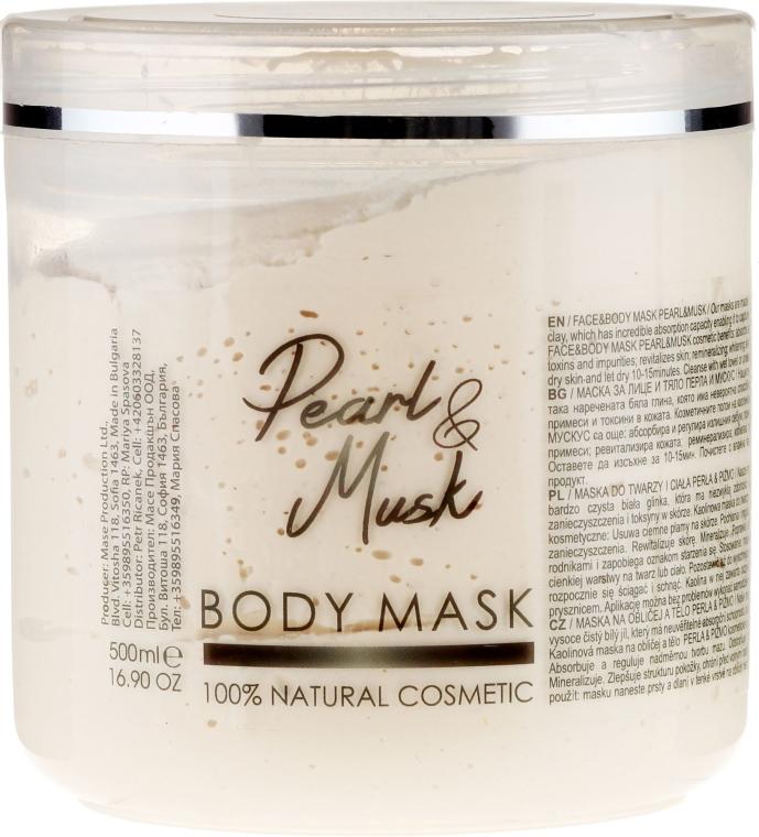 Oczyszczająca maska do ciała Perła i piżmo - Sezmar Collection Professional Body Mask Pearl & Musk — фото N1