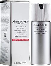 Kup Odmładzający fluid do twarzy - Shiseido Men Total Revitalizer Light Fluid