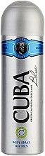 Kup Cuba Blue - Spray do ciała