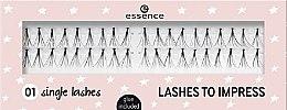 Kup Sztuczne rzęsy w kępkach - Essence Lashes To Impress 01 Single Lashes