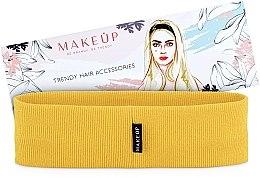 Kup Opaska na głowę Be Beauty, żółta (20 x 6 cm) - Makeup