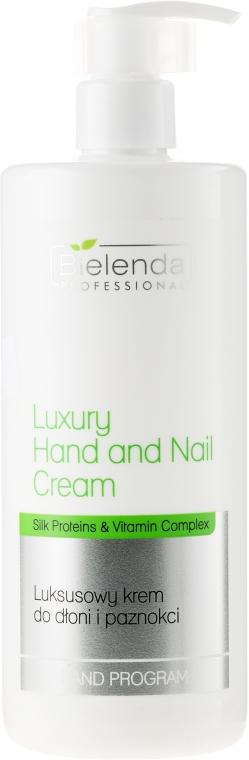 Luksusowy krem do dłoni i paznokci - Bielenda Professional Luxury Hand and Nail Cream
