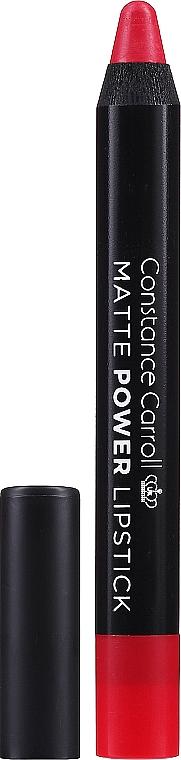 Matowa szminka w kredce - Constance Carroll Matte Power Lipstick