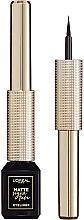 Kup Eyeliner w płynie - L'Oreal Paris Matte Signature Eyeliner