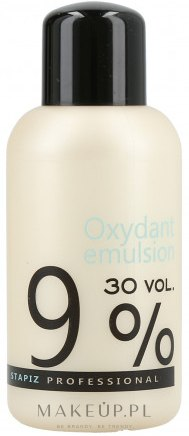 Woda utleniona w kremie 9% - Stapiz Professional Oxydant Emulsion 30 Vol. — фото 150 ml