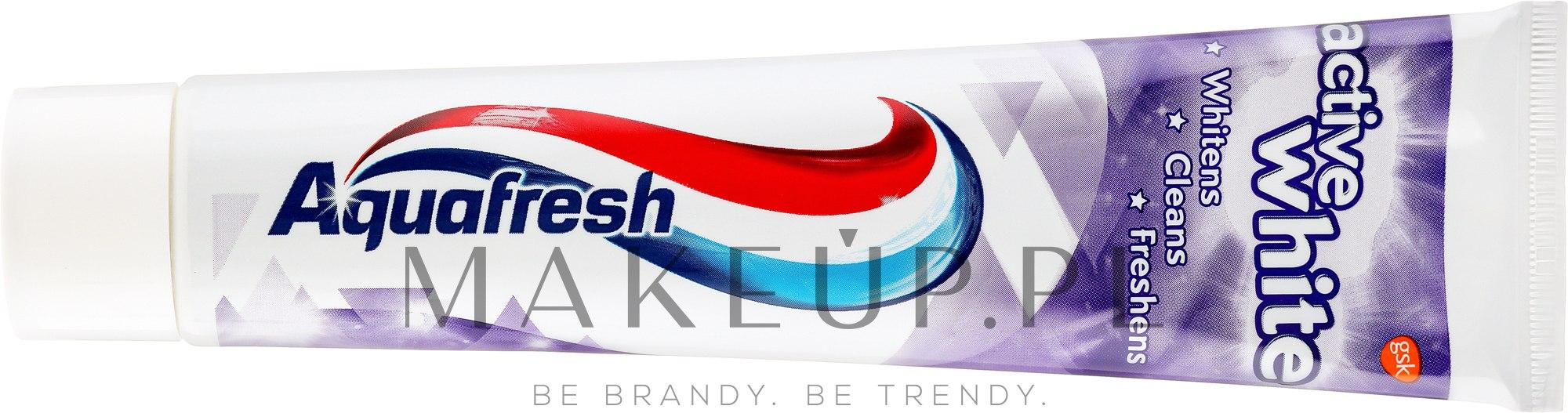 Pasta do zębów Aktywne wybielanie - Aquafresh Active White Toothpaste — фото 125 ml