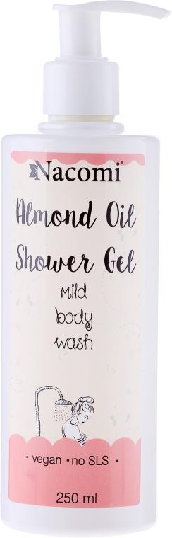 Migdałowy żel pod prysznic - Nacomi Almond Oil Shower Gel