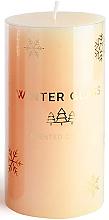 Kup Świeca zapachowa, kremowa, 7 x 19 cm - Artman Winter Glass