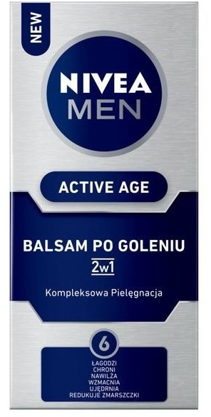 Balsam po goleniu 2w1 - Nivea Men Active Age