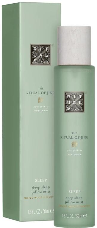 Relaksujący spray zapachowy do ciała i pościeli na noc - Rituals The Ritual of Jing Deep Sleep Pillow Mist — фото N1