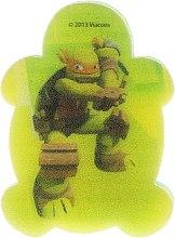 Kup Gąbka kąpielowa dla dzieci, Wojownicze Żółwie Ninja, Michelangelo 1 - Suavipiel Turtles Bath Sponge