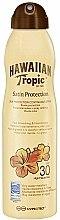 Kup Spray do opalania ciała SPF 30 - Hawaiian Tropic Satin Protection Continous Spray Sunscreen Lotion