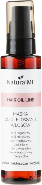 Maska do olejowania włosów - NaturalME Hair Oil Line