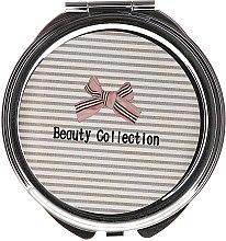 Kup Lusterko okrągłe kieszonkowe, 85598, w paski - Top Choice Beauty Collection Mirror