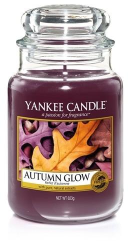 Świeca zapachowa w słoiku - Yankee Candle Autumn Glow