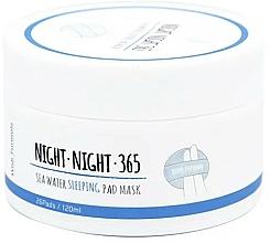Kup Płatki pielęgnacyjne na noc z wodą morską i kolagenem - Wish Formula Night Night 365 Sea Water Sleeping Pad Mask