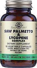Kup Suplement diety Kompleks likopenu - Solgar Saw Palmetto & Lycopene