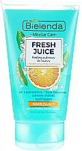 Kup Nawilżający peeling cukrowy do twarzy z bioaktywną wodą cytrusową - Bielenda Fresh Juice Peel