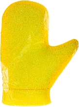 Kup Rękawiczka do masażu Aqua, 6021, żółto-zielona - Donegal Aqua Massage Glove