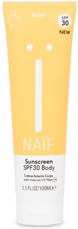 Aktywny podkład przeciwsłoneczny do ciała Spf 30 - Naif Sunscreen Body Spf30 — фото N1