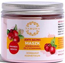 Kup Przeciwstarzeniowa maska do twarzy z acerolą i witaminą C - Yamuna Anti-aging Mask With Acerola And C-vitamin