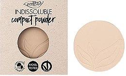 Kup Kompaktowy puder do twarzy (wymienny wkład) - PuroBio Cosmetics Compact Powder