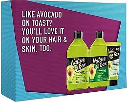 Kup PRZECENA! Zestaw - Nature Box (sh/gel 385 ml + shamp 385 ml + cr 75 ml) *