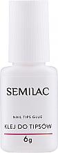 Kup Klej do tipsów z pędzelkiem - Semilac Nail Tip Glue