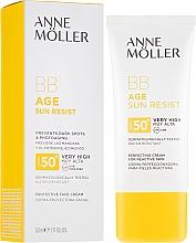 Kup Przeciwsłoneczny krem BB do twarzy SPF 50+ - Anne Möller BB Age Sun Resist Perfecting Cream