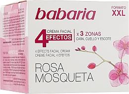 Kup Odmładzający krem do twarzy i szyi 4 efekty - Babaria Rosa Mosqueta 4 Effects Facial Cream