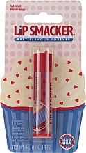 Kup Smakowa pomadka do ust Babeczka red velvet - Lip Smacker Red Velvet Flovoured Lip Balm