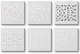 Kup Zestaw naklejek do paznokci 42928 - Top Choice Nail Decorations Stickers Set