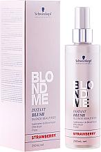 Kup PRZECENA! Spray do delikatnej koloryzacji włosów - Schwarzkopf Professional BlondMe Instant Blush Spray *