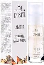 Kup Bursztynowe serum esencjonalne do twarzy - SM Collection Crystal Amber Facial Serum