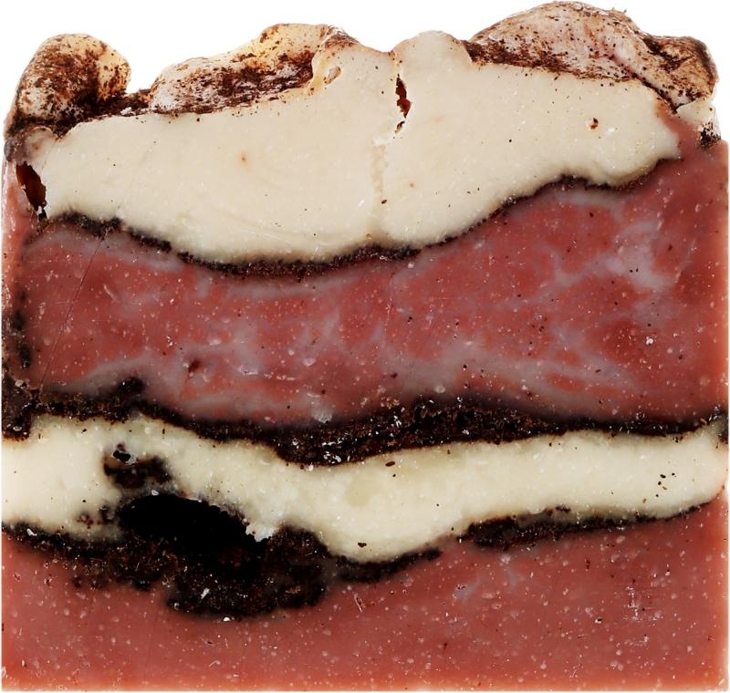 Naturalne mydło w kostce ręcznie robione Kawa i wanilia - Yeye — фото N2