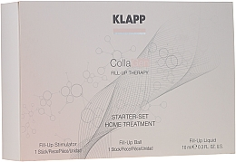 Kup Zestaw startowy do twarzy - Klapp Collagen Starter Set Home Treatment