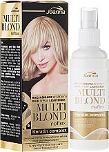Kup PRZECENA! Rozjaśniacz w sprayu do włosów - Joanna Multi Blond Reflex *