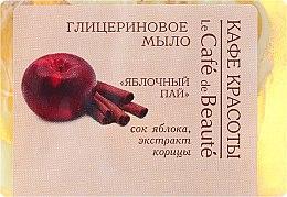 Kup Mydło glicerynowe Jabłko i cynamon - Le Café de Beauté Glycerin Soap