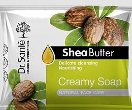 Kup Kremowe mydło z masłem shea do twarzy - Dr. Sante Cream Soap