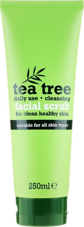 Oczyszczający peeling do twarzy Drzewo herbaciane - Xpel Marketing Ltd Tea Tree Facial Scrub
