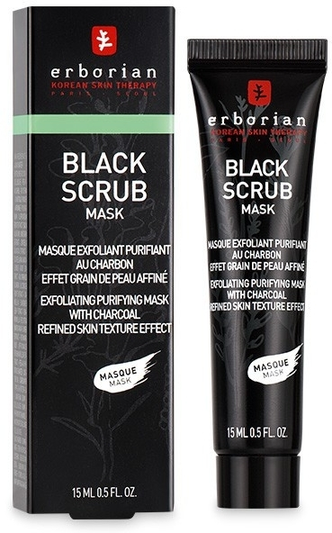 Peeling-maska oczyszczająca z węglem aktywnym - Erborian Black Scrub Mask — фото N1