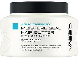 Kup Nawilżające masło do włosów Kwas hialuronowy i olej kokosowy - Vasso Professional Moisture Seal Hair Butter