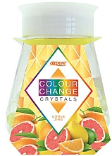 Kup Żelowe perełki zapachowe Cytrusy - Airpure Colour Change Crystals Citrus Zing