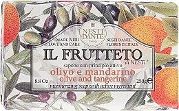 Kup Nawilżające mydło w kostce Oliwka i mandarynka - Nesti Dante Il Frutteto