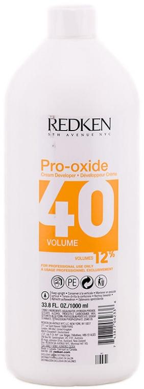Oksydant do farby do włosów - Redken Pro-Oxide 40 vol. 12% — фото N1