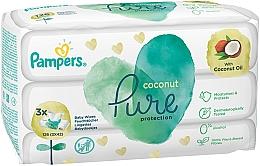 Kup Chusteczki nawilżane dla niemowląt, 3 x 42 szt. - Pampers Pure Coconut